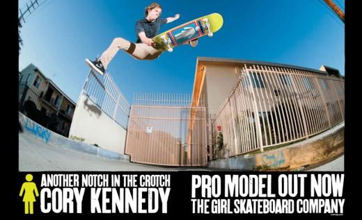 GIRL Skateboards スケボー スケートボード デッキ 通販 コリー・ケネディ Cory Kennedy OG AD