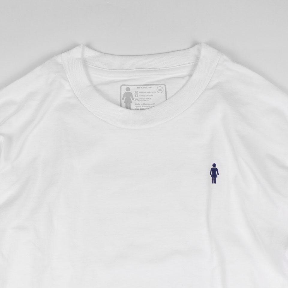 GIRL MICRO OG Tシャツ ホワイト