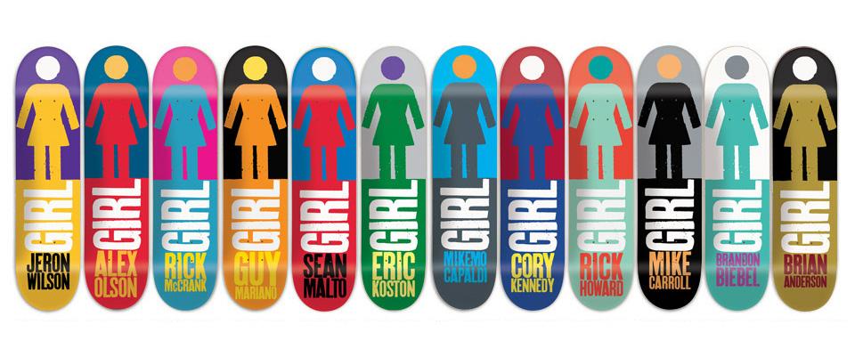 スケボー 通販 GIRL デッキ スケートボード REAL BIG