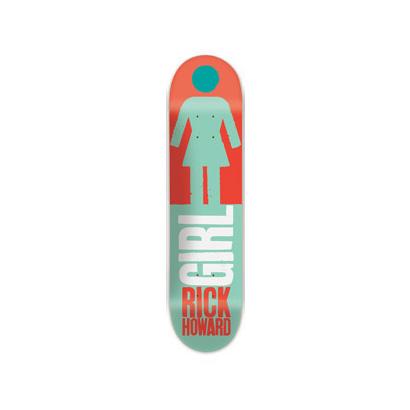 スケボー 通販 GIRL デッキ スケートボード REAL BIG リック・ハワード
