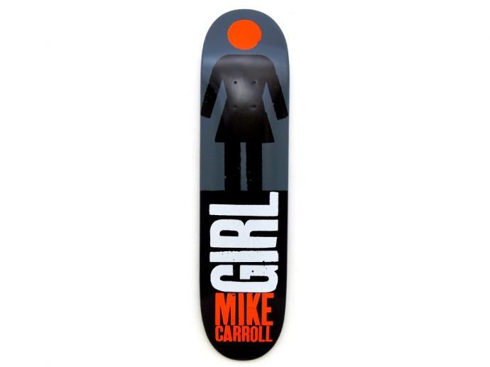 スケボー 通販 GIRL デッキ スケートボード REAL BIG マイク・キャロル 7.625インチ