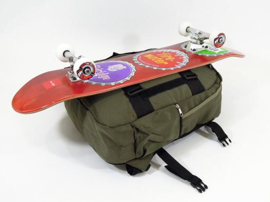 スケボー ブランド バッグ GIRL スケートキャリア バックパック デッキ取り付け3