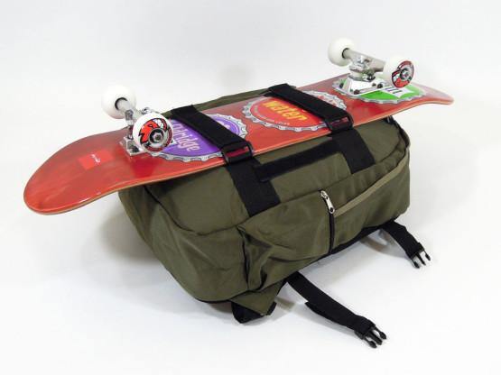 スケボー ブランド バッグ GIRL スケートキャリア バックパック デッキ取り付け4