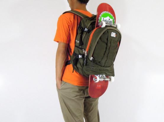 スケボー ブランド バッグ GIRL スケートキャリア バックパック モデル4