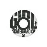 GIRL Skateboards スケボー スケートボード ウィール BIG GIRL GRAIN 51mm