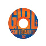 GIRL Skateboards スケボー スケートボード ウィール BIG GIRL GRAIN Orange 52mm