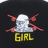 Girl Skateboards Anderson Skull T-Shirt 05