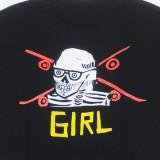 Girl Skateboards Anderson Skull T-Shirt 05