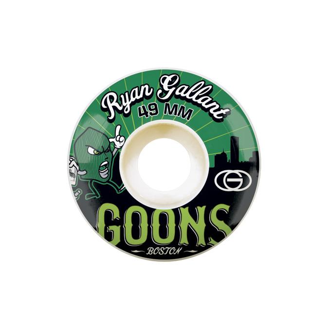 Gold Wheels スケボー スケートボード ウィール GOONS Ryan Gallant 49mm