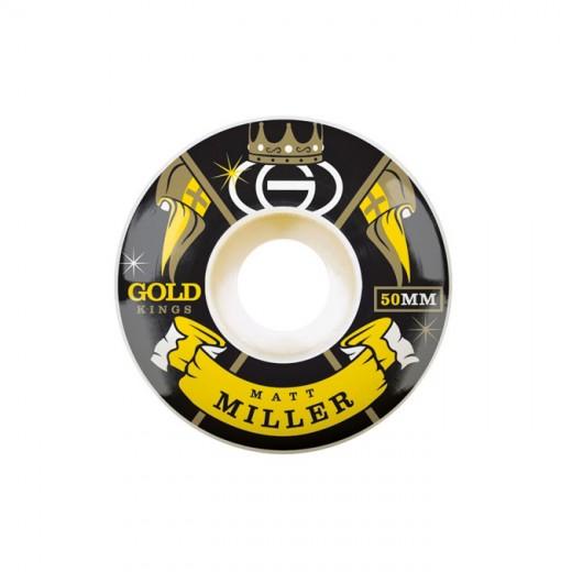 Gold Wheels スケボー スケートボード ウィール KINGS Matt Miller 50mm