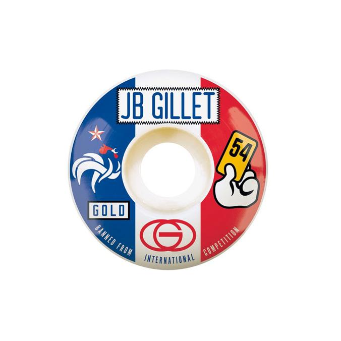 Gold Wheels スケボー スケートボード ウィール BANNED JB Gillet 54mm