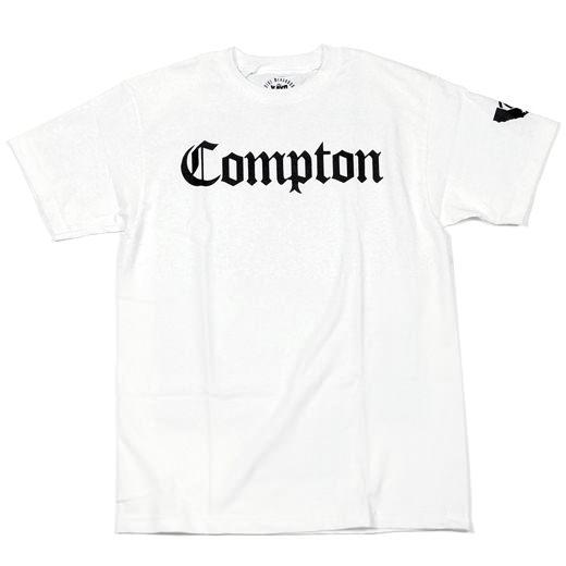 Gold Wheels Skateboards Compton T-Shirt 01