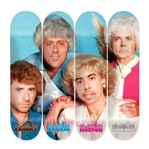 GIRL Skateboards GOLDEN GIRLS SERIES DECK