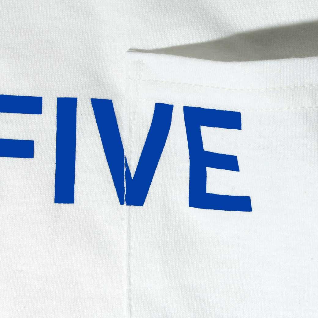 Hi5 オリジナル ポケット Tシャツ