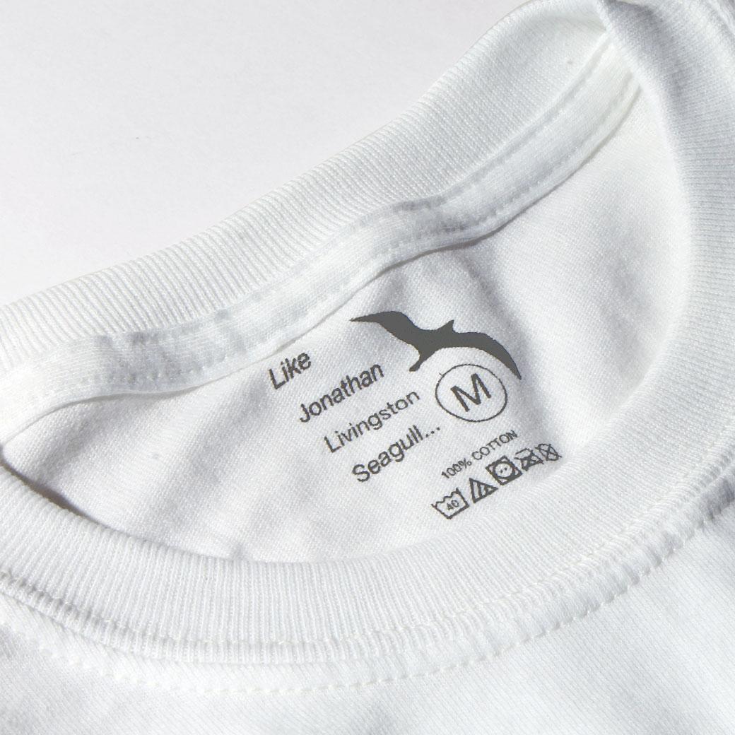 Hi5 Tシャツ タグ カモメのジョナサン