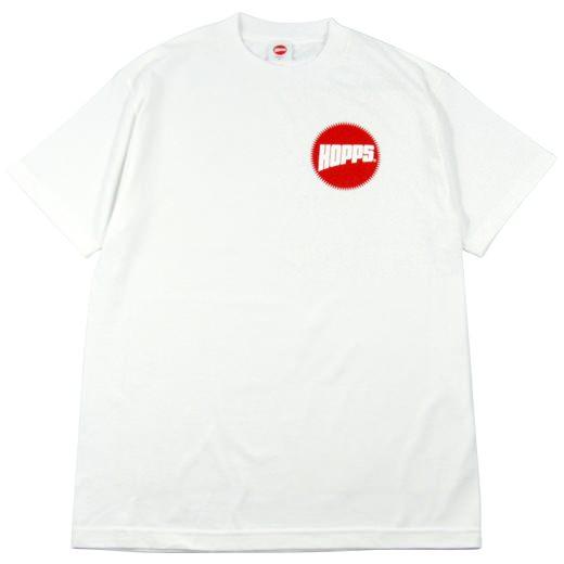 Hopps Skateboarding Logo T-Shirt 01