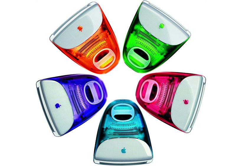 ステレオ バイナルクルーザーと初代iMacは似ている