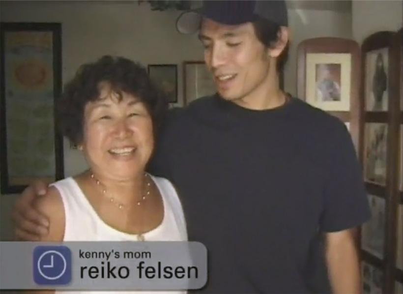 Chocolateのケニー・アンダーソンのお母さんは日本人。