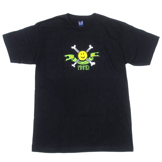 KROOKED Skateboards Happy Bones T-Shirt 01
