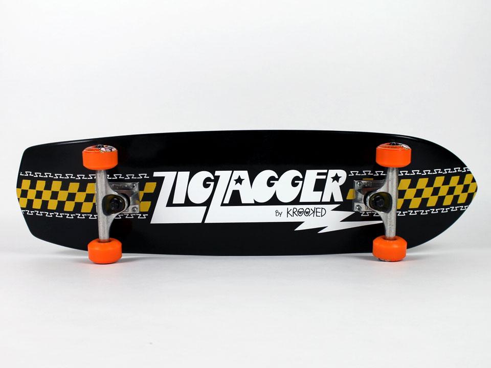 KROOKED ZIGZAGGER クルーザーコンプリートデッキ 1