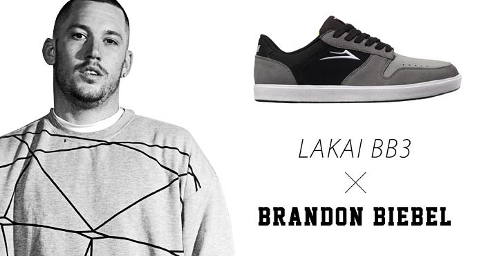 LAKAI スケボー スケートボード スニーカー 通販 BB3 Brandon Biebel ラカイ ブランドン・ビーブル