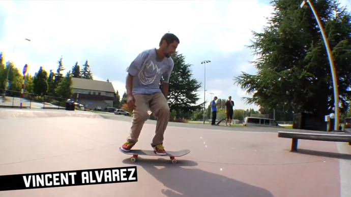 Vincent Alvarez King Of The Road 2011
