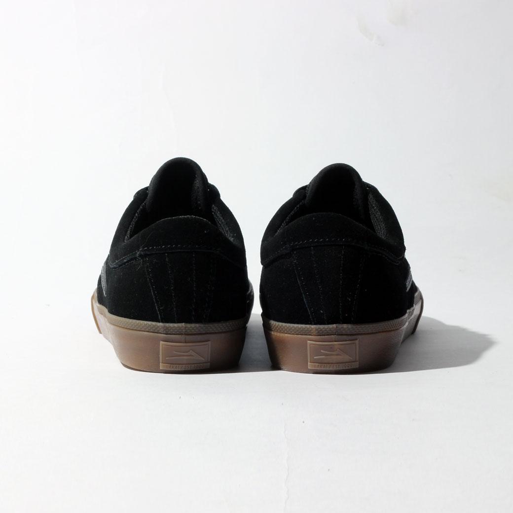 LAKAI SHEFFIELD ブラック/ガム スエード