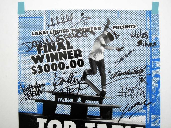 LAKAI 通販 スケボー シューズ スケートボード LAKAIライダーサイン入りポスター A