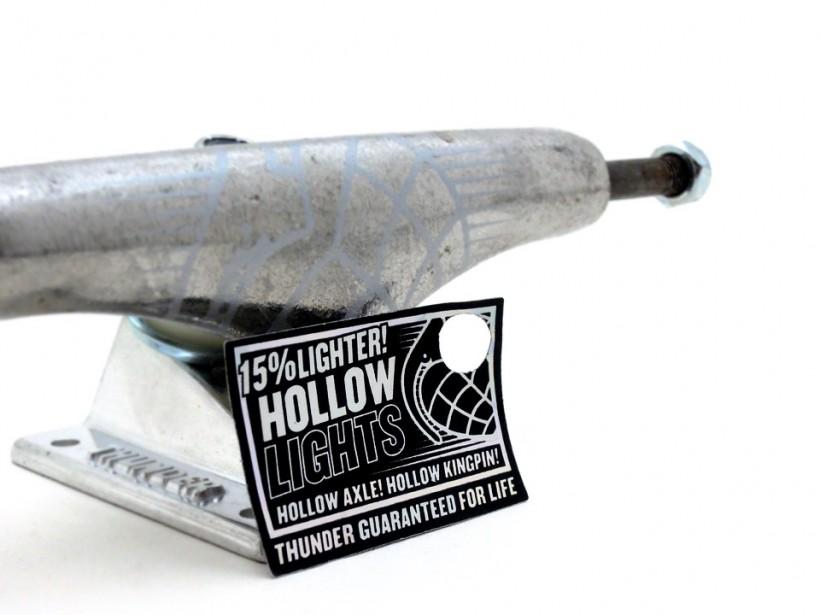 スケボー 初心者 通販 スケートボード デッキの選び方 コンプリートデッキ 太め サイズ 安定感 トラックの幅 THUNDER HOLLOW LIGHT サンダー ホロー ライト