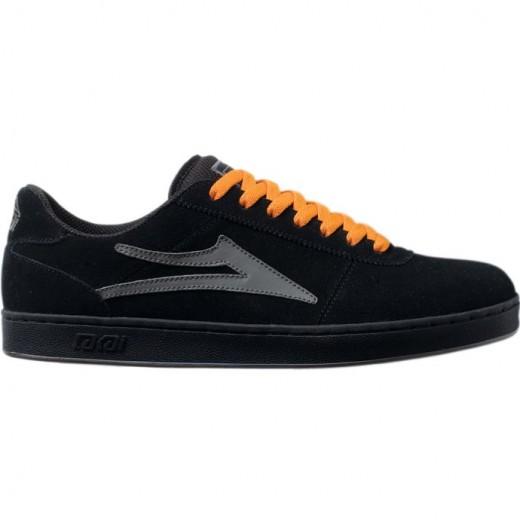 LAKAI FOOTWEAR MANCHESTER SELECT XLK Black Suede 01