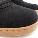 LAKAI スニーカー スケボー スケートボード 通販 MANCHESTER XLK Black/Gum Suede Chocolate スエード質感