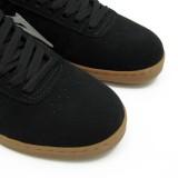 LAKAI スニーカー スケボー スケートボード 通販 MANCHESTER XLK Black/Gum Suede Chocolate つま先