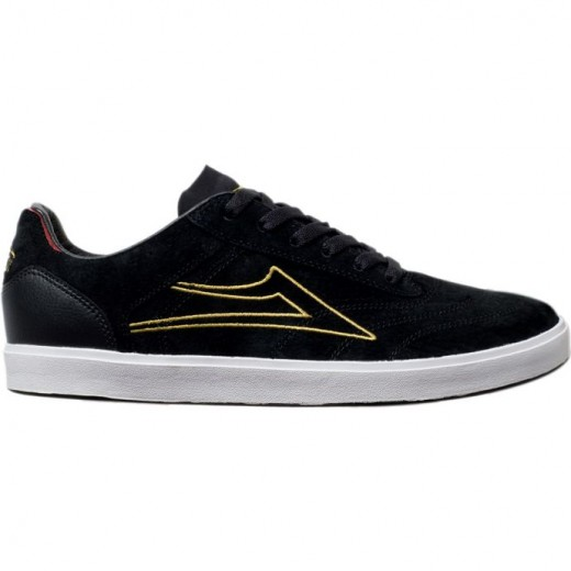 LAKAI LIMITED FOOTWEAR RH Black Suede 01