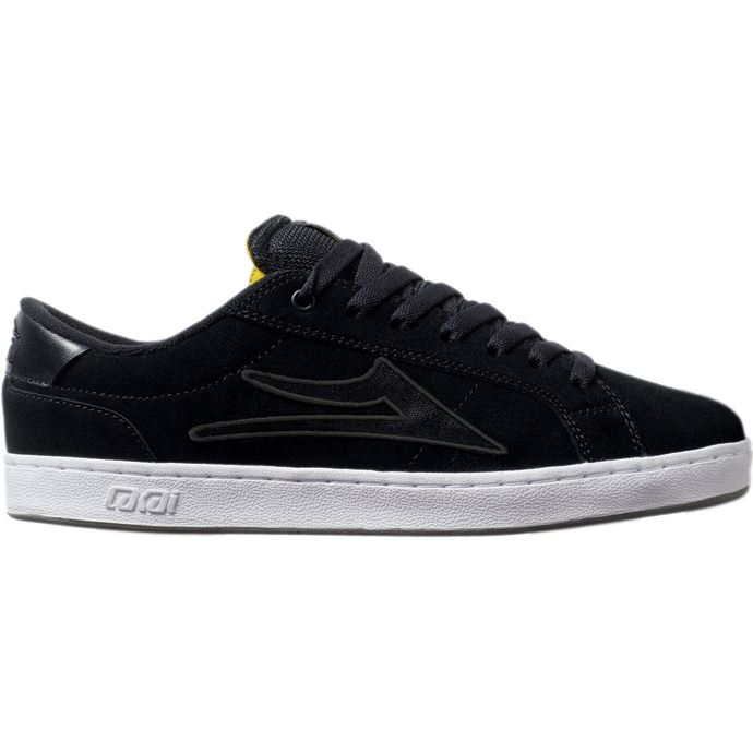 LAKAI LIMITED FOOTWEAR MJ6 Black Suede 01