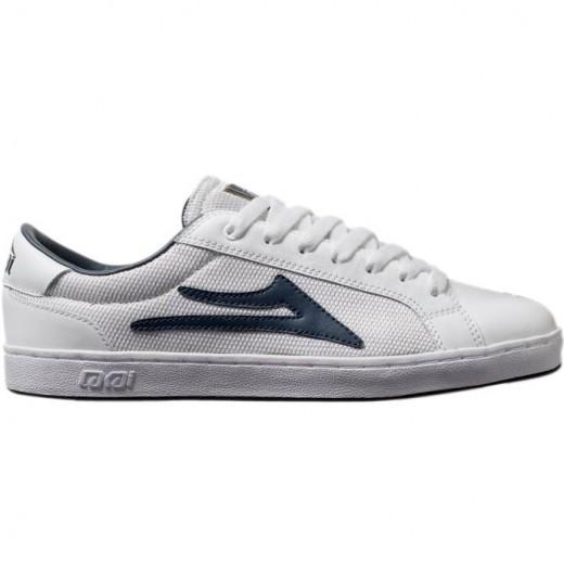 LAKAI LIMITED FOOTWEAR MJ6 White Leather 01
