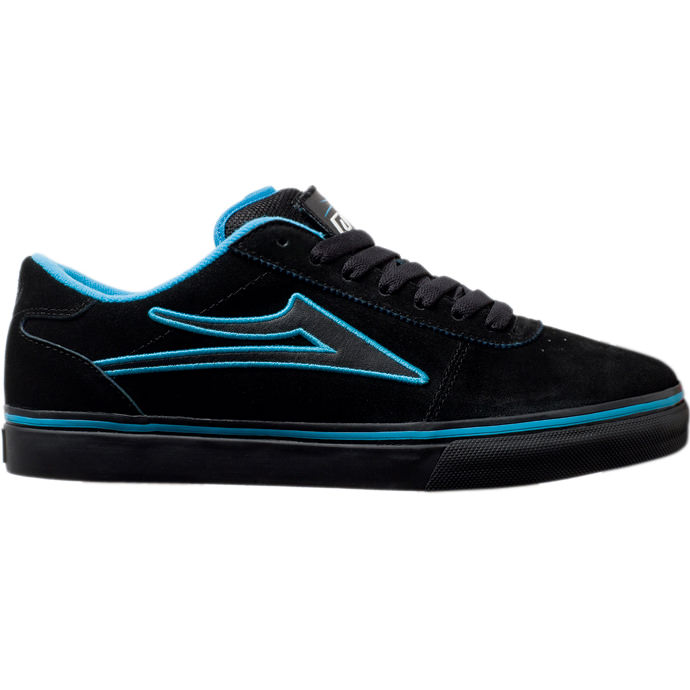 LAKAI LIMITED FOOTWEAR MANCHESTER SELECT PATCH KIT Black Suede 01