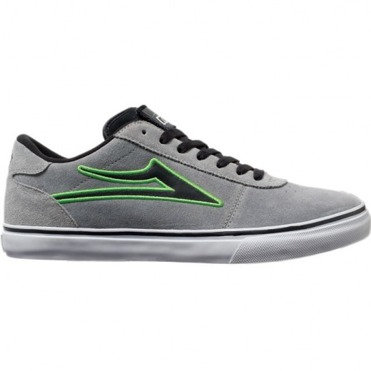 LAKAI LIMITED FOOTWEAR MANCHESTER SELECT PATCH KIT Grey Suede 01
