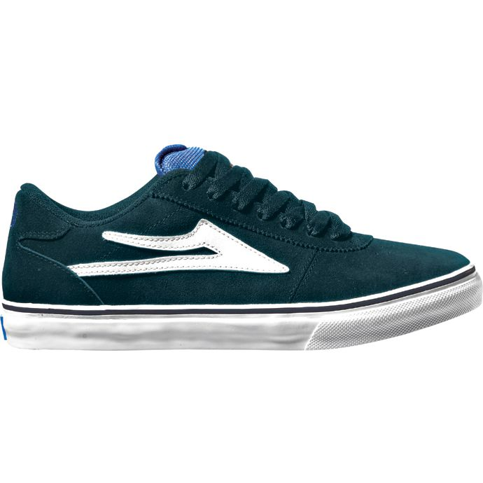 LAKAI LIMITED FOOTWEAR MANCHESTER SELECT Navy Suede 01