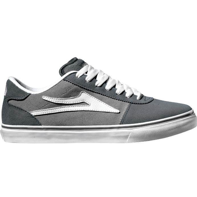 LAKAI LIMITED FOOTWEAR MANCHESTER SELECT Charcoal/Grey Suede 01