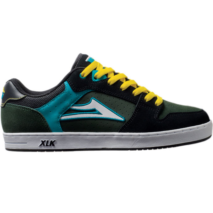 LAKAI LIMITED FOOTWEAR CAIRO XLK Green/Black Suede 01
