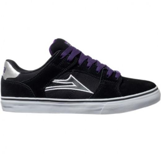 LAKAI LIMITED FOOTWEAR CARROLL SELECT LO Black Suede 01