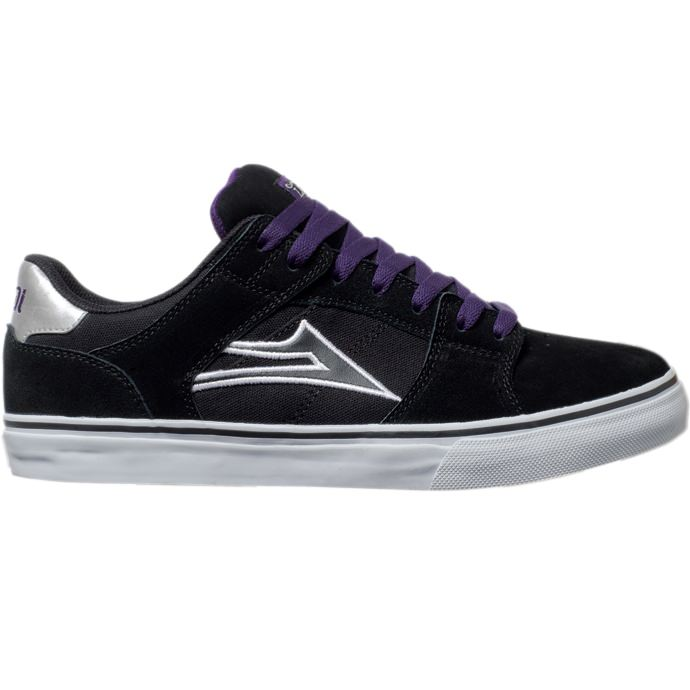 LAKAI LIMITED FOOTWEAR CARROLL SELECT LO Black Suede 01
