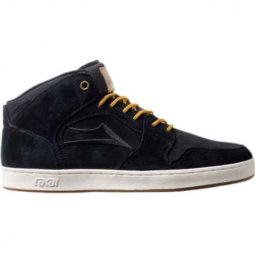 LAKAI LIMITED FOOTWEAR TELFORD XLK Black Suede 01