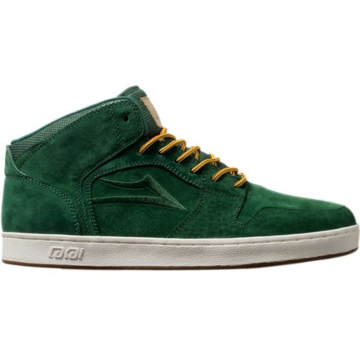 LAKAI LIMITED FOOTWEAR TELFORD XLK Forest Green Suede