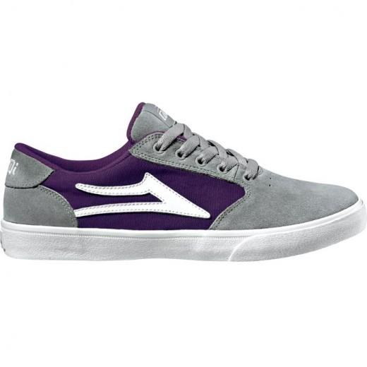LAKAI LIMITED FOORWEAR PICO Grey/Purple Suede 01