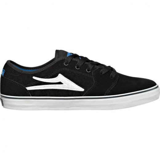 LAKAI LIMITED FOOTWEAR JUDO Black Suede 01