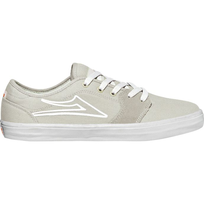LAKAI LIMITED FOOTWEAR JUDO White Canvas 01