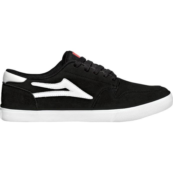 LAKAI CARROLL 5 Black Suede 01