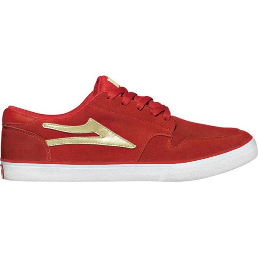 LAKAI CARROLL 5 Red Suede 01