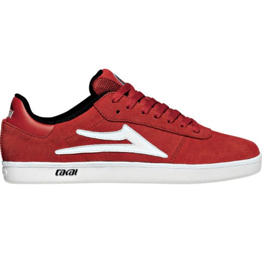 LAKAI GUY XLK Red Suede 01